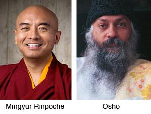 Mingyur Rinpoche, Osho